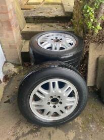 Mercedes Vito Alloy Wheels x4