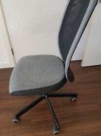 Two IKEA office chairs can be sold sepertley