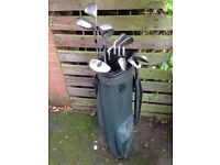 Golf Clubs (Full Set including drivers, putter, balls, tees and bag)