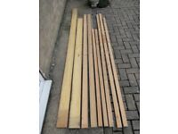 Timber pine Stripwood /Battens wood in assorted sizes, nine lengths, sell singly or together