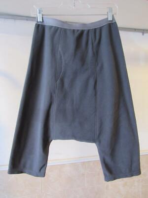 NWT Comme des Garcons Ganryu Fleece Drop Crotch Cropped Comfy Pant S