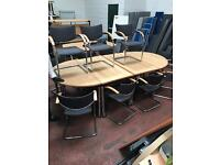 Boardroom Executive Table & 6 Chairs (Package)