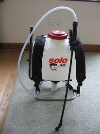 Backpack sprayer