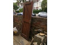 Exterior Panelled Softwood Door