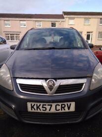 Vauxhall ZAFIRA-DVD, Gps, Back camera.