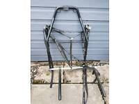 Rear Car or Jeep Bicycle carrier Rack can fit over rear door tyre too