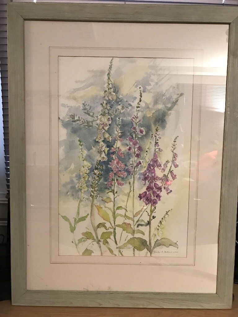 Original Watercolour by Jennifer A Hudson (Framed) Painting Price Reduced top sell!