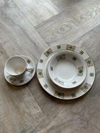 Alfred Meakin Glo-White Ironstone myott dinner and tea set