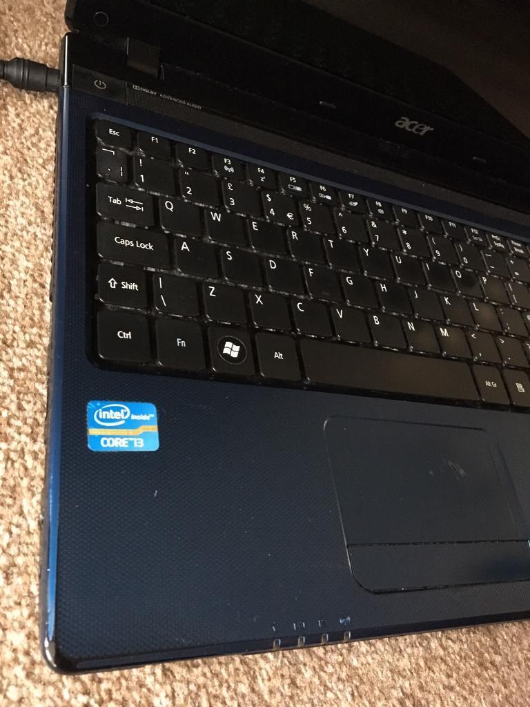 Acer Aspire blue edition