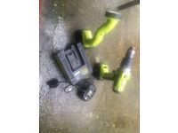 Workzone cordless drill and light fully working