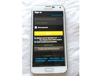 Samsung Galaxy S5 White 16GB For Spare Or Repair Only.