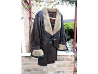 Vintage leather suit size 12 small