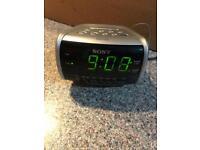 Sony Dream machine mains or batt powered Radio , clock , alarm unused .