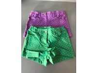 Mini boden girls shorts for sale age 5