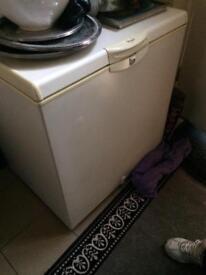 Whirlpool chest freezer.