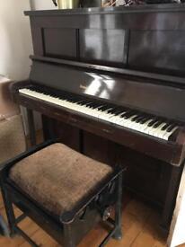 Triumph Autopiano Piano for sale with stool