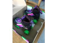 SFR RIO Kids Roller Skates Size 3