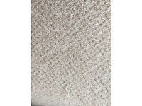 Carpet off cuts Berber style heavy duty savannah 72 (white and brown mix) £72 worth (£9sqm)