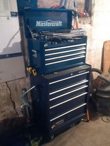 Mastercraft Tool Box (Top & Bottom Drawers)