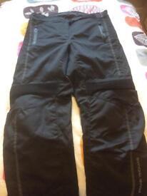Ladies motorbike trousers