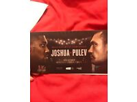 Joshua vs pulev ticket