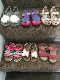 Infant girls sandals
