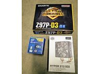 Gaming CPU & RAM & Mobo combo (i5-4690k & 16GB RAM & Gigabyte Z97P-D3)