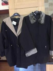 2 Ladies Coats - (I Will Sell Separately)