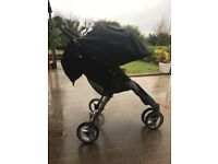 City Mini Jogger, used but in great condition. This is a great all round buggy. Very easy cleaned.