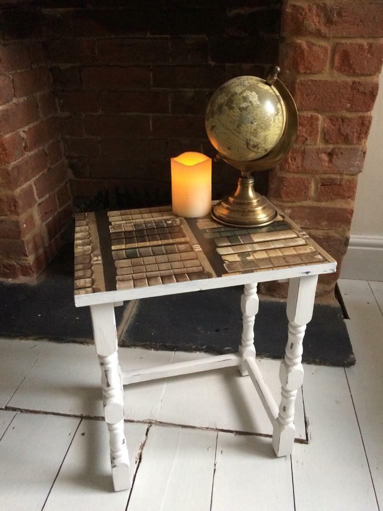 Small Shabby chic side table