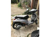Piaggio Liberty (70cc registered as 50cc) (2007)