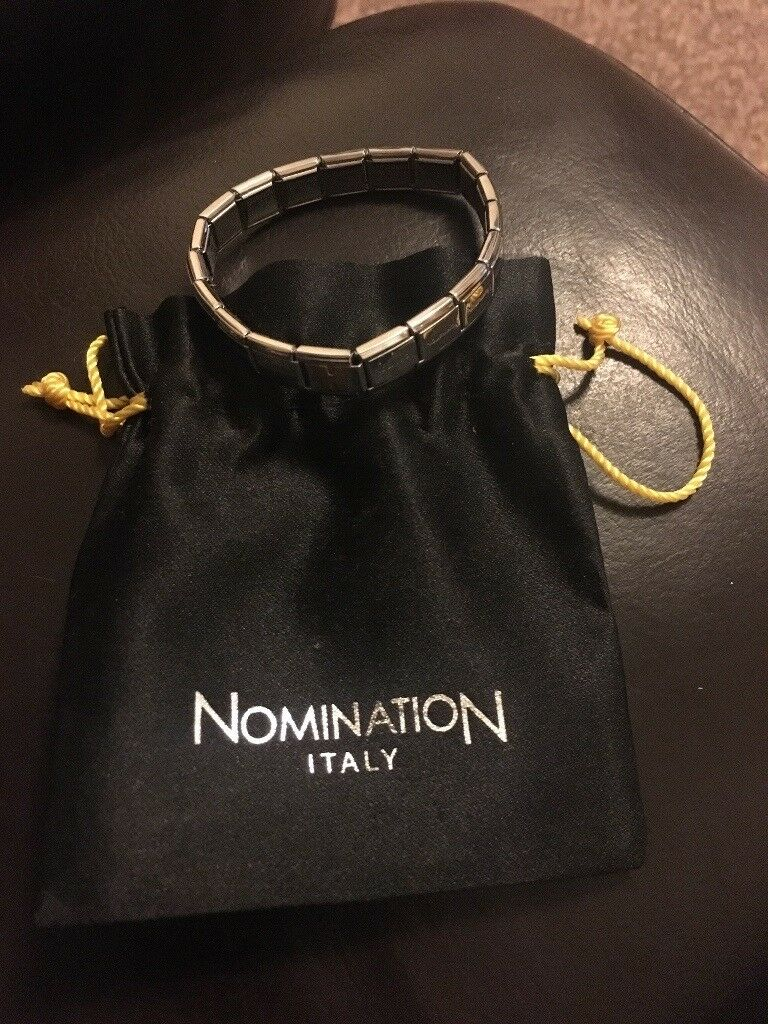 Genuine Nomination Bracelet With Bag
