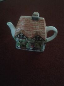 The Village Collection Teapot - The Red Lion Inn for sale.