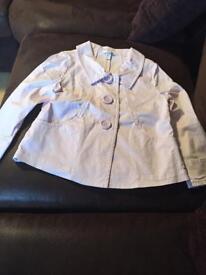 Pink jacket H&M size 8