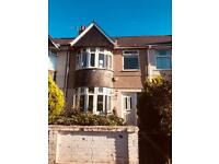 3 bedroom terraced house to let in St.Judes, Plymouth- pets welcome.