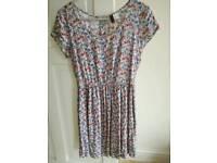 H&M floral summer dress. Size 8