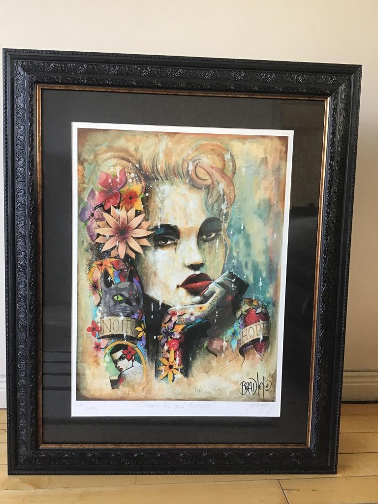 Terry Bradley Limited Edition Print In Bangor County