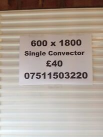 CENTRAL HEATING RADIATOR Stelrad Single Convector 600 mm high x 1800 mm long.