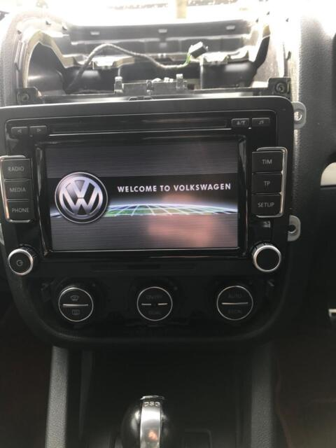GENUINE VW RCD510 TOUCHSCREEN STEREO 6 CD GOLF JETTA PASSAT TOURAN SCIROCCO  POLO | in Birmingham, West Midlands | Gumtree