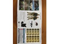 20 PAINTBALL ENTRY TICKETS + 2000 PAINTBALLS