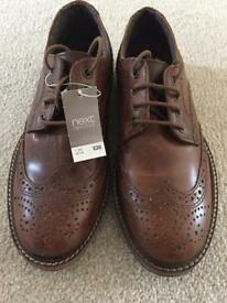 Boys Brown shoes.
