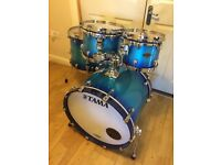 Brand New Tama Starclassic Drum Kit // Twilight Blue Fade // Birch Bubinga // Free Local Delivery