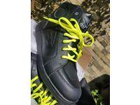 AXO HIPSTER leather waterproof motorbike boots 11uk