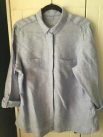 Ladies Linen Shirt M&S