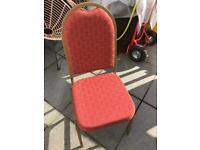 Banquet chairs x 4