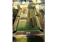 6x3' pub style pool table