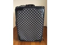 "RALPH LAUREN SIGNATURE LOGO SERIES 1000 WHEELED 21 "" CARRY ON LUGGAGE"