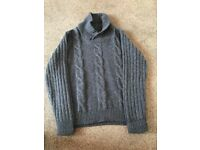 Mens On fire chunky jumper