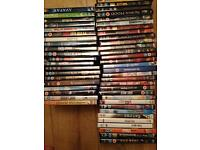 Collection of 50 DVDs