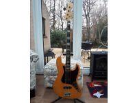 Fender Jazz Bass. Made in Japan 75 reissue.